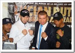 Champion IBF Bute Champion WBO Guzman