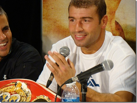 Lucian Bute Champion IBF super-moyens Québec 2009 Andrade