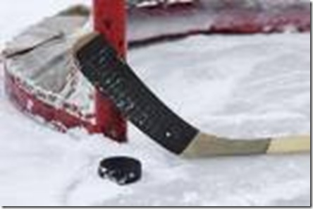 Hockey -bâton rondelle - artistique