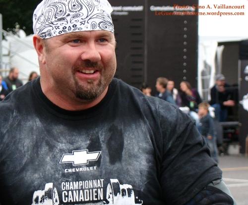 MIKE SANDERS HOMME FORT DU CANADA