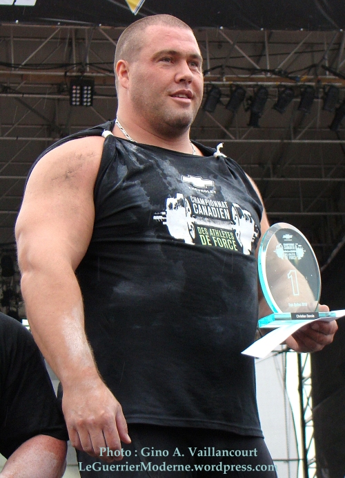 Christian Savoie Champion Canadien 2010 podium