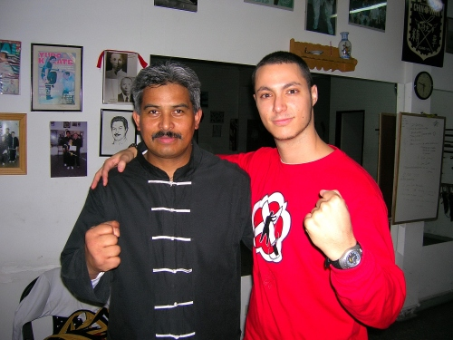 Gino A.Vaillancourt Guerrier Moderne Sifu George Rizzo