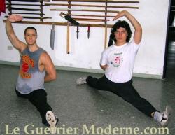 Kung-fu Guerrier Moderne