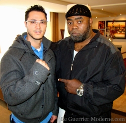 Guerrier Moderne & l'entraîneur de Bernard Hopkins, Brother Nazim Richardson