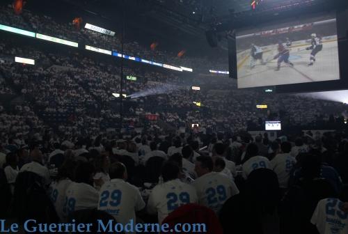 Match Bleu Québec Guerrier Moderne.com