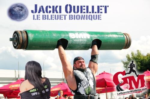 Jacki Ouellet Bleuet Bionique Le Guerrier Moderne