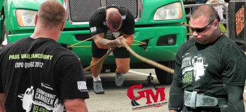 Paul Vaillancourt Ontario Strongest Man