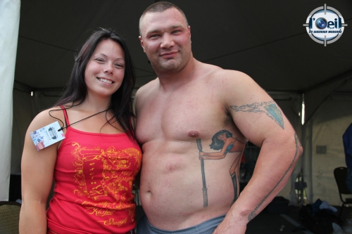 Paul Vaillancourt & Sarah Leighton Canada's Strongest Couple