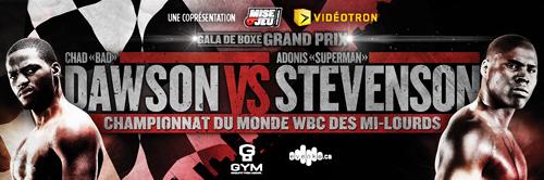 Stevenson vs Dawson 2013