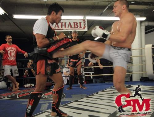 GSP Front Kick