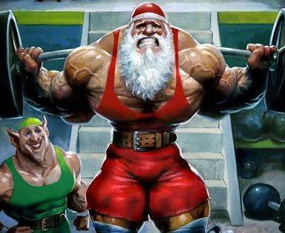 Santa Clause Muscle