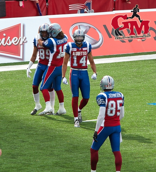 IMG_5706_Photo Football 2014 Alouettes Montréal L'Oeil du Guerrier Moderne