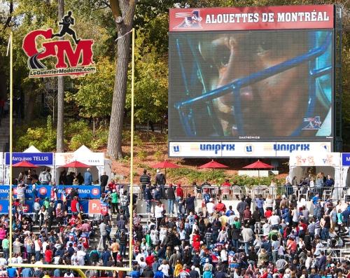IMG_5749_Antony Calvillo Jersey retire Photo Football 2014 Alouettes Montréal L'Oeil du Guerrier Moderne