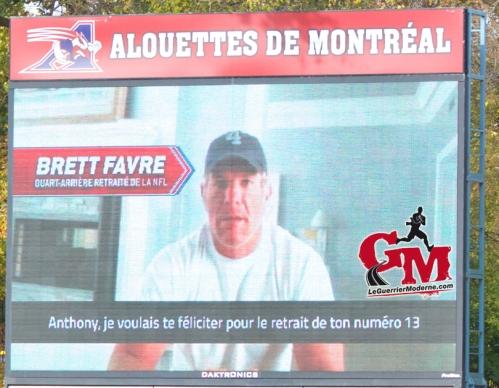 IMG_5844_Brett Favre Photo Football 2014 Alouettes Montréal L'Oeil du Guerrier Moderne