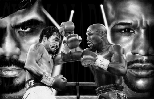 floyd_mayweather_vs_manny_pacquiao_by_shomanart-d8728a5