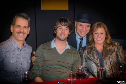 Patrice Lavoie, Guillaume Ramé, Vic Thériault et Lucie Lamoureux